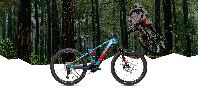 E-Bike MTB Fully