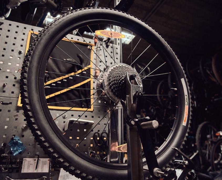 Kleinere schnelle Reparaturen an Deinem Bike sind kein Problem